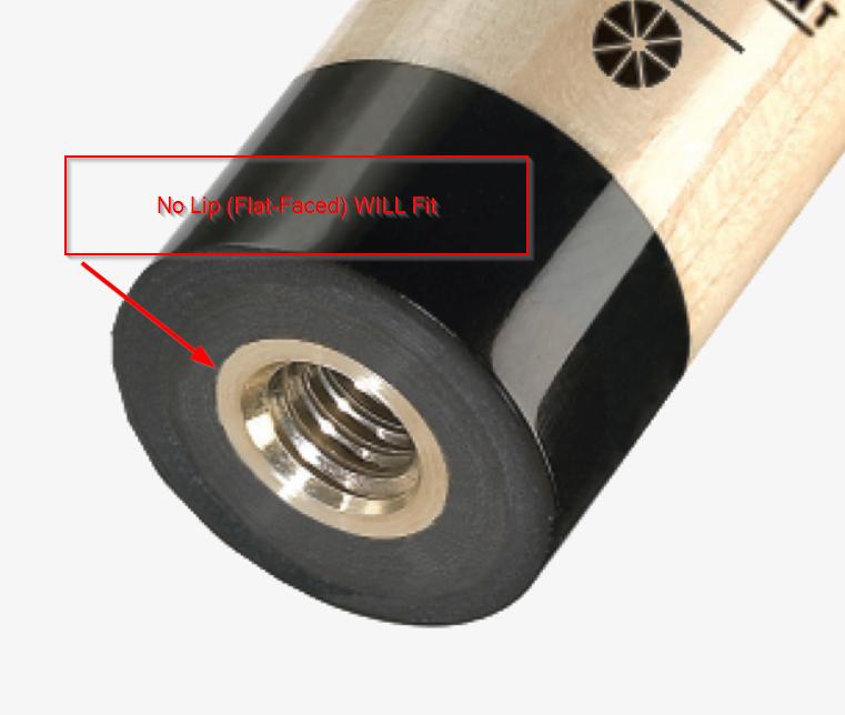 Black Aluminum 5/16x14 Joint Protectors